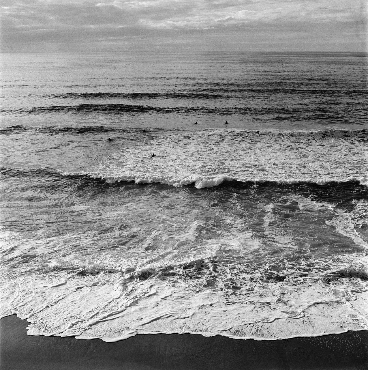 ocean landscape biarritz